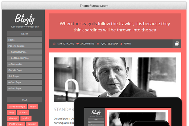 Wordpress Theme: Blogly
