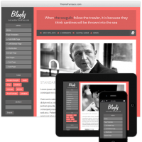 Wordpress Free Theme - Blogly