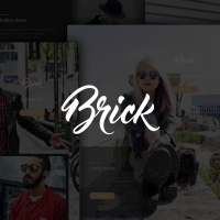 Joomla Premium Template - Brick Gridbox Theme and Joomla Quickstart