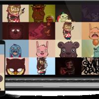 balbooa Joomla Template: Uncover - Joomla portfolio template