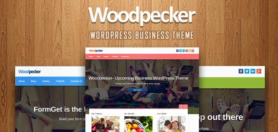 Wordpress Theme: Woodpecker