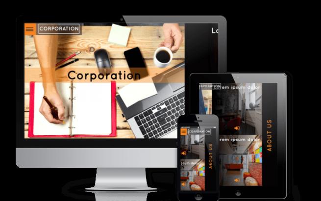 Wordpress Theme: Corporation - Creative WordPress theme