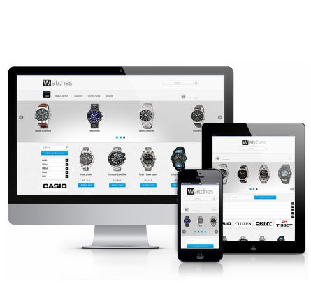 Joomla Template: Watches Shop - VirtueMart Template for Joomla