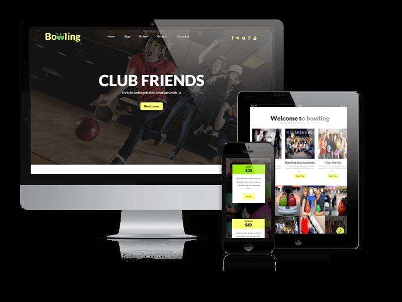Wordpress Theme: Bowling - WordPress Theme