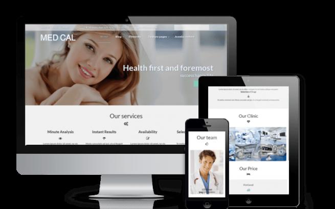 Joomla Template: Medical - Healthcare Joomla template