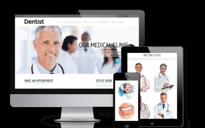 Joomla Template: Dentist - Dentistry Joomla Template