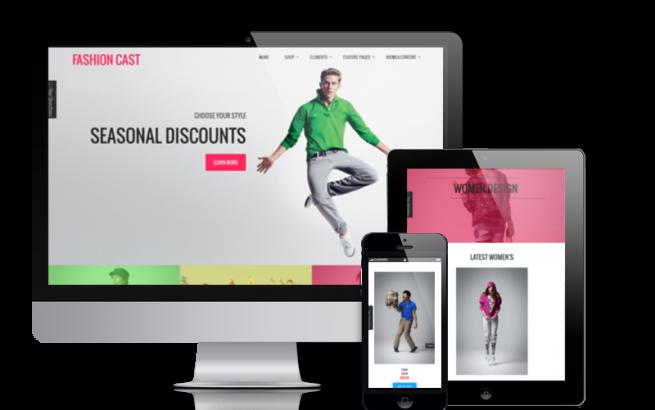 Joomla Template: Fashion Cast - Joomla  VirtueMart template