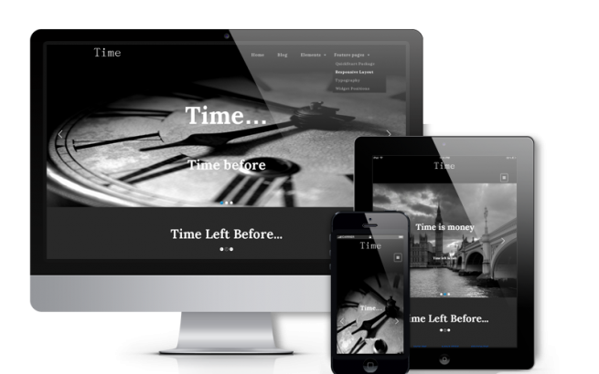 Wordpress Theme: Time - Creative WordPress Theme