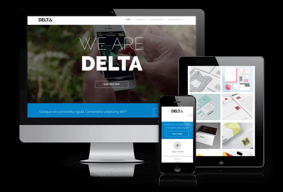 Wordpress Theme: Delta - WordPress  Blog Theme