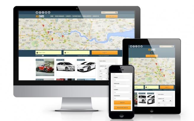 Joomla Template: OS All Cars