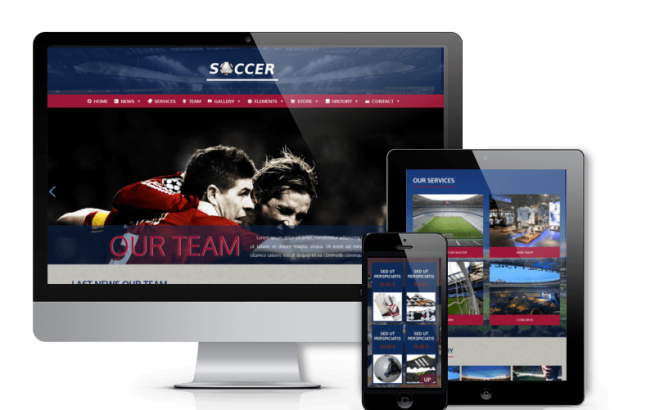 Wordpress Theme: Soccer - Football WordPress Theme
