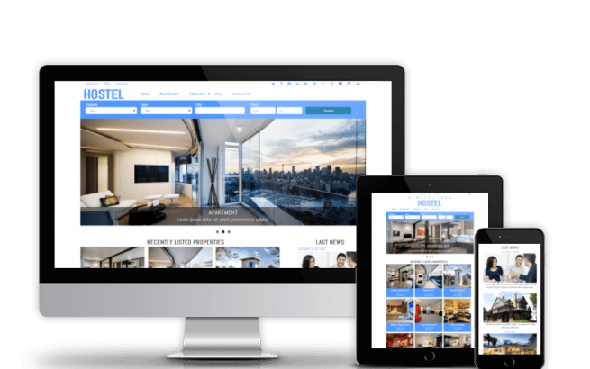 Drupal Theme: Hostel - Free Drupal Real Estate Theme