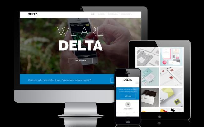 Joomla Template: OS Delta - premium Joomla template for creative folks