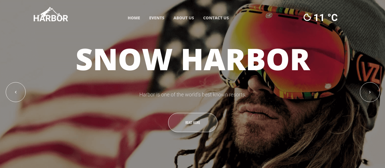 Joomla Template: Harbor