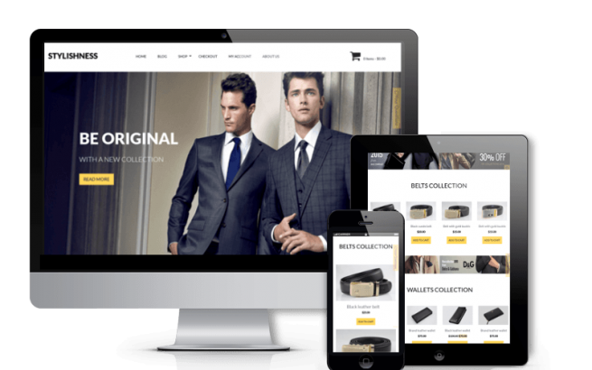 Wordpress Theme: Stylishness - WordPress eCommerce Theme