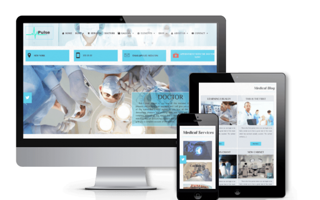 Wordpress Theme: Pulse - Medical WordPress Theme