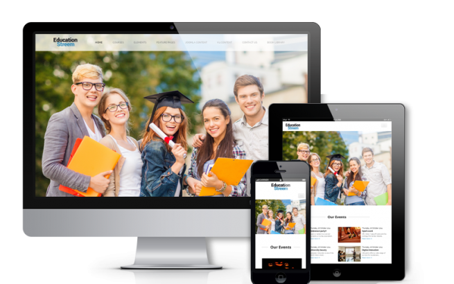 Joomla Template: EducationStreem - Joomla Education Template
