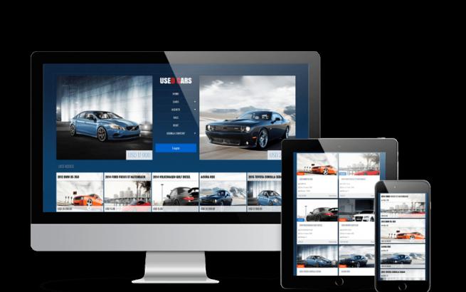 Joomla Template: Used Cars - Automotive Joomla Template