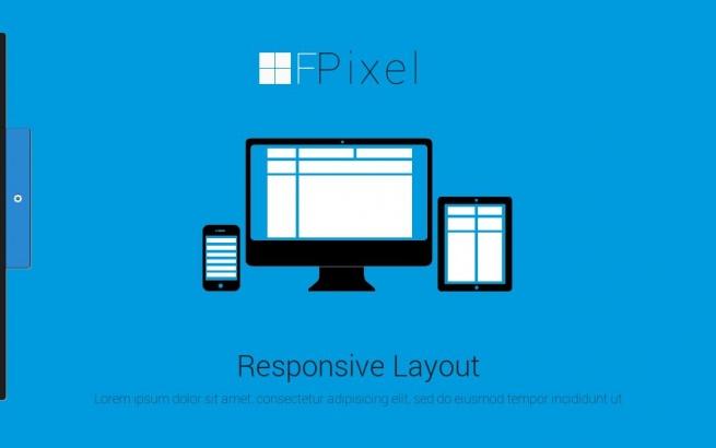 Joomla Template: Flat Pixel - Creative Portfolio Template
