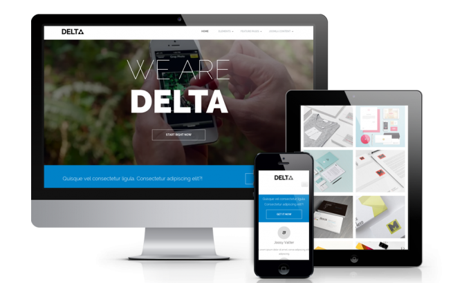 Wordpress Theme: Delta - Free Wordpress  Blog Theme