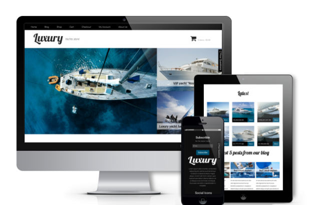 Wordpress Theme: Luxury - WooCommerce  WordPress Theme