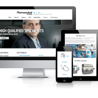 admin Joomla Template: Pharmaceutical Company - Joomla Corporate template