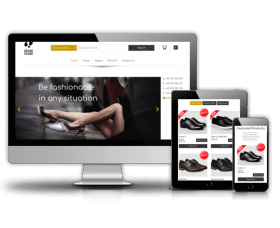 admin Joomla Template: FREE eCommerce Joomla template - Shoe Store