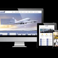 OrdaSoft Joomla Template: Jet Charter Flights - Joomla template