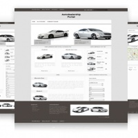 OrdaSoft Joomla Template: Auto Dealership Portal