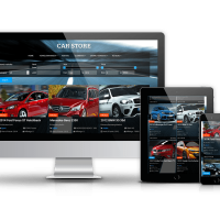 Joomla Templates: Car Store - Joomla Automotive Template