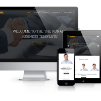 Drupal Premium Theme - Ronal - Drupal  Website Design