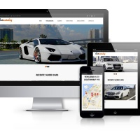 Joomla Premium Template - Car Catalog - Automotive Website Template