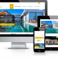 Joomla Premium Template - Crimea - Joomla real estate template