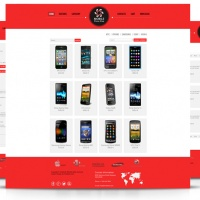 OrdaSoft Joomla Template: OS Mobile Store