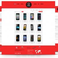 admin Joomla Template: OS Mobile Store