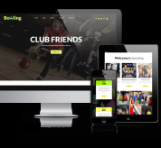 Wordpress Themes: Bowling - WordPress Theme