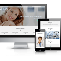 Joomla Premium Template - Medical - Healthcare Joomla template