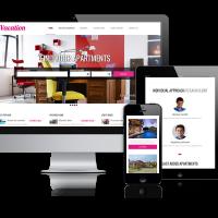 admin Joomla Template: Vacation - Joomla real estate template