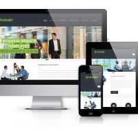 OrdaSoft Joomla Template: Greenster - Joomla One-page Template