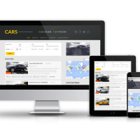 Joomla Templates: Cars - Joomla Car Dealer Template