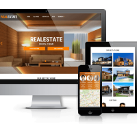 Drupal Free Theme - Real Estate - Responsive Drupal theme
