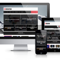 Joomla Premium Template - Revolution - Joomla News Template