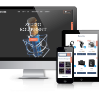 OrdaSoft Wordpress Theme: M-Store - Music Store WordPress Theme