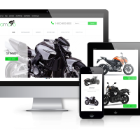 OrdaSoft Joomla Template: Yamoto - Motorcycle Website Template