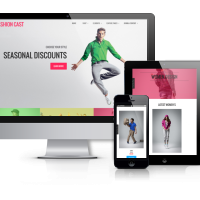 Joomla Premium Template - Fashion Cast - Joomla  VirtueMart template