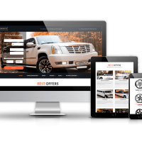 OrdaSoft Joomla Template: Luxury Car Rental - Limo Joomla Template