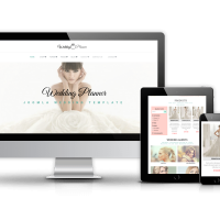 OrdaSoft Joomla Template: Wedding Planner - Joomla Wedding template