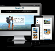 Wordpress Premium Theme - Traveler - WordPress Blog Theme