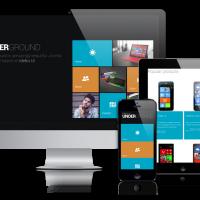 OrdaSoft Joomla Template: OS Undegraund Metro UI template