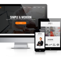 OrdaSoft Wordpress Theme: BizOne -  One Page Wordpress Theme